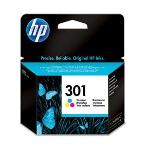HP 301 INK COLOR inktcartridges (kleur)