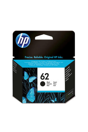 HP 62 INK BLACK inktcartridge (zwart)