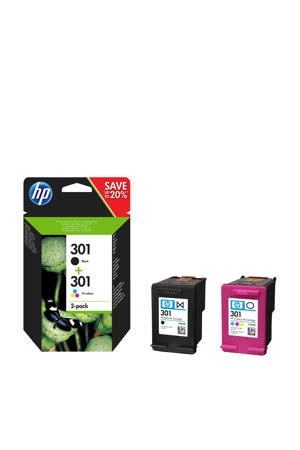 HP 301 INK COMBO inktcartridges (kleur)