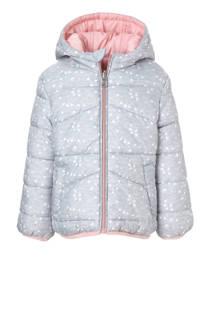 C&A Palomino omkeerbare winterjas met hartjes grijs (meisjes)