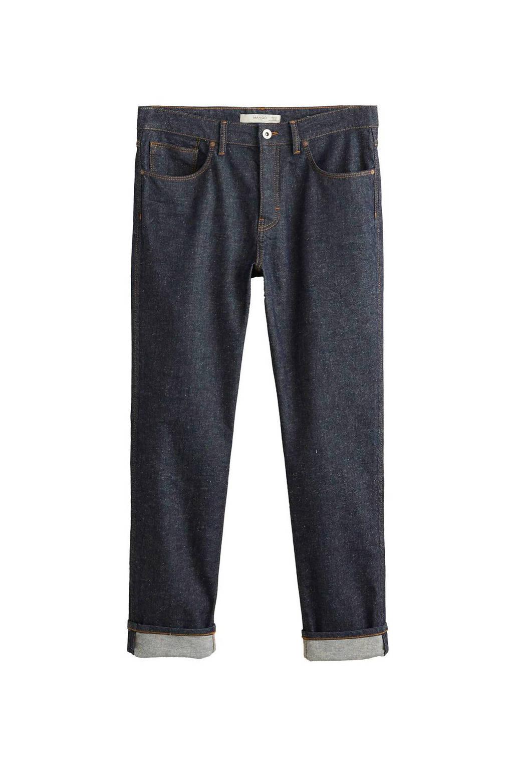 Mango Man regular fit jeans, Dark denim