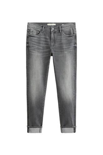 skinny fit jeans grijs
