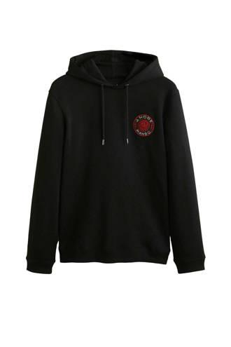 André hoodie zwart