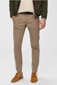 SELECTED HOMME straight fit chino, Camel