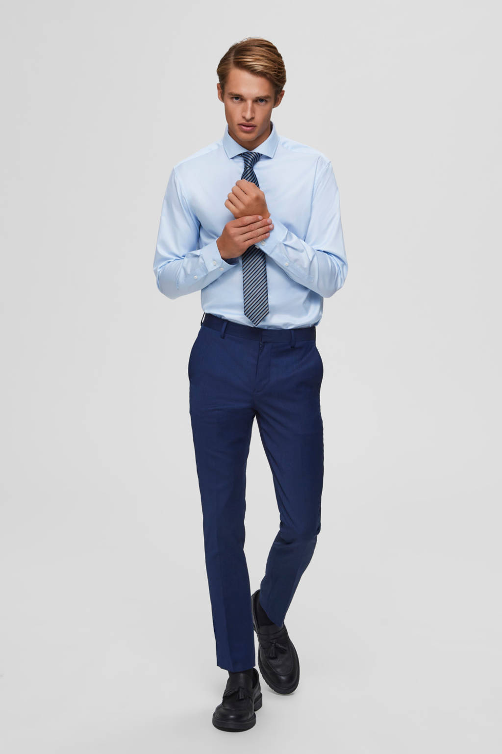 SELECTED HOMME overhemd, Lichtblauw