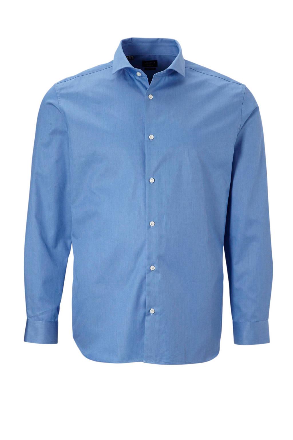 SELECTED HOMME overhemd blauw, Blauw