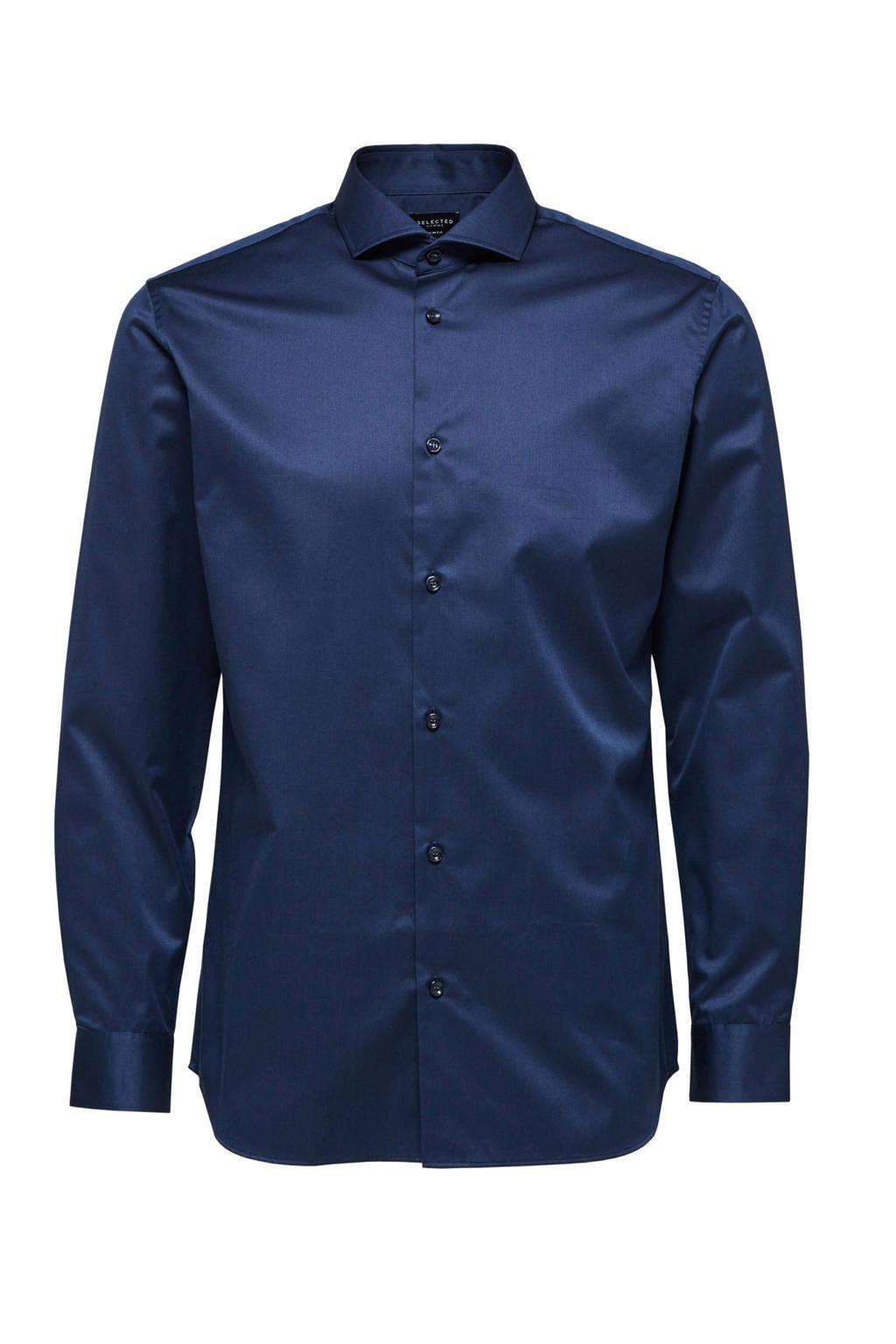 SELECTED HOMME overhemd, Donkerblauw