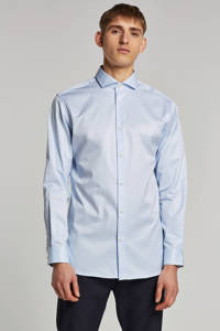 SELECTED HOMME slim fit overhemd, Lichtblauw