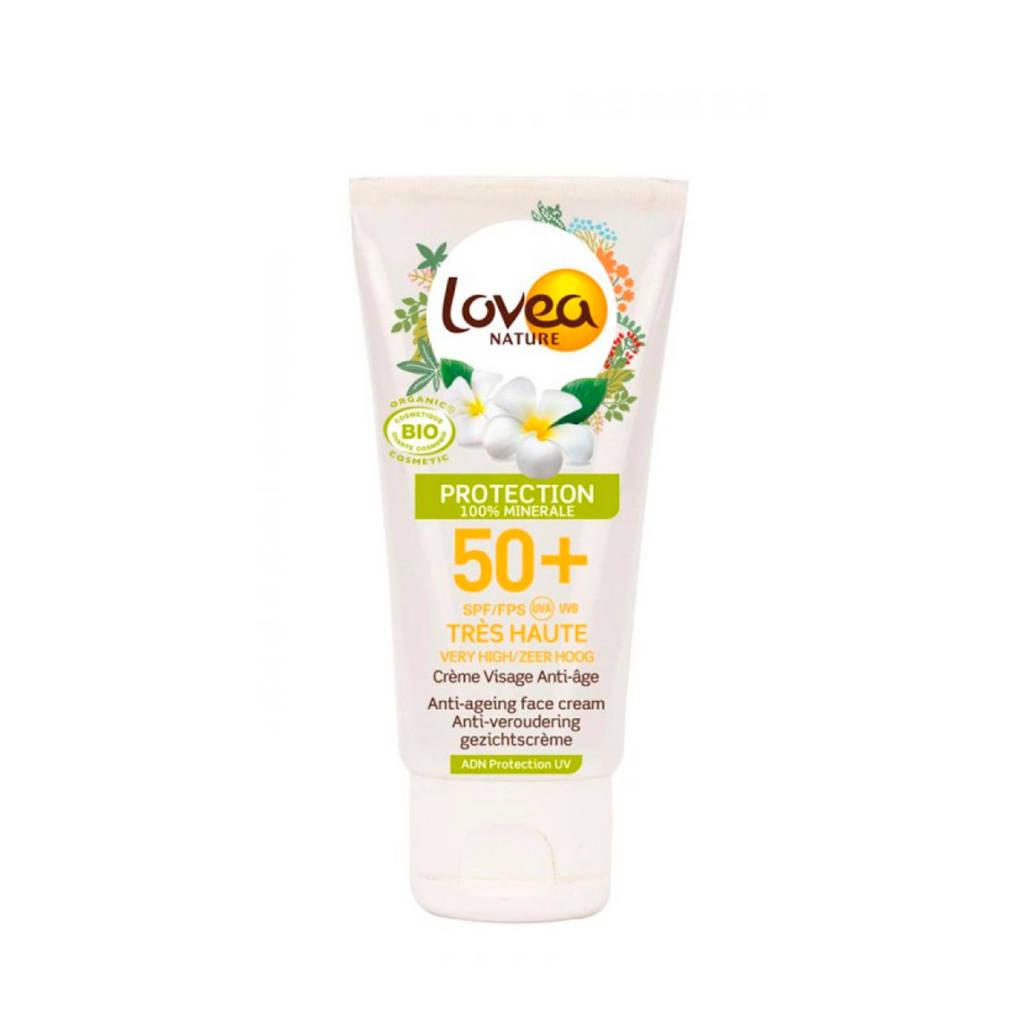 Lovea Face Cream zonnebrand SPF 50 - 50 ml