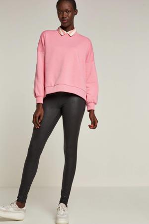 high waist legging zwart
