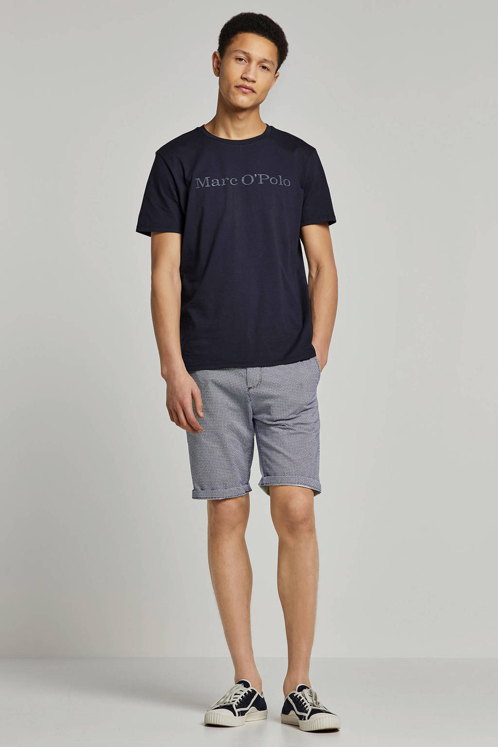 Marc O'Polo t-shirt, Donkerblauw