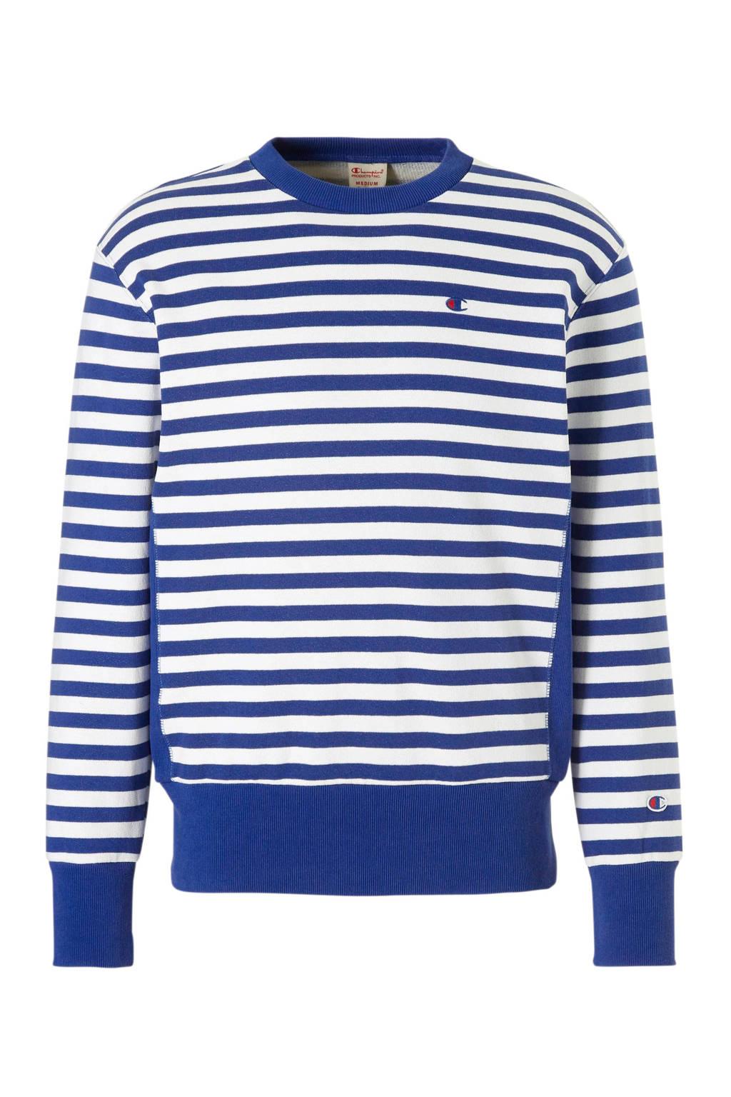 Champion sweater, Blauw