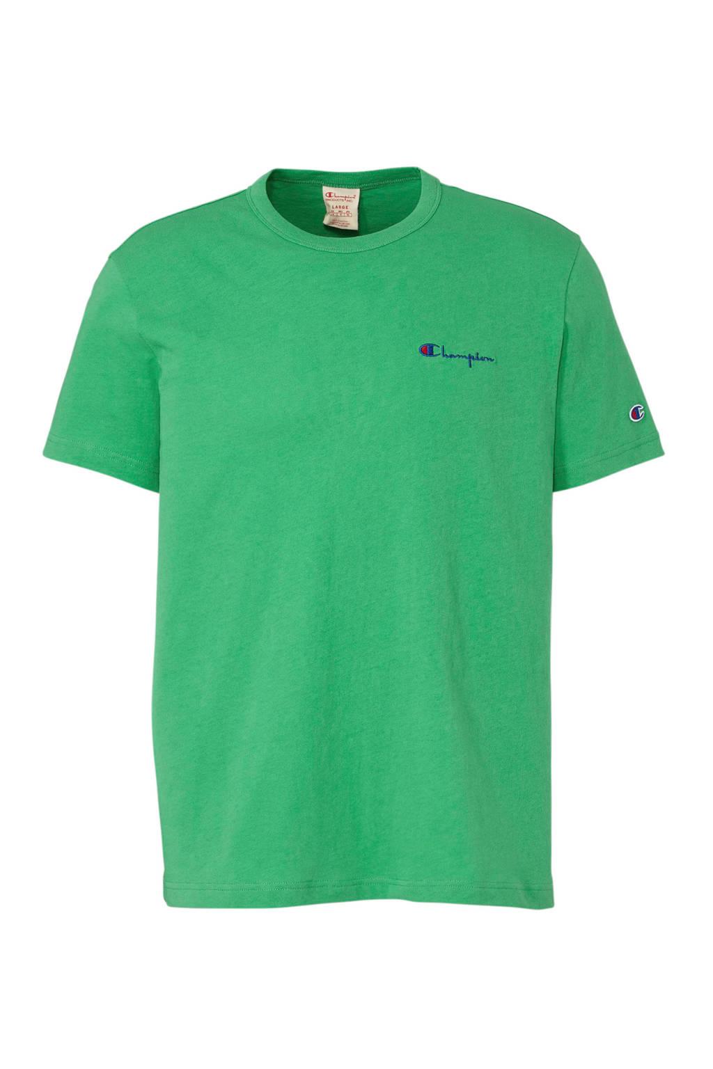Champion T-shirt, Groen