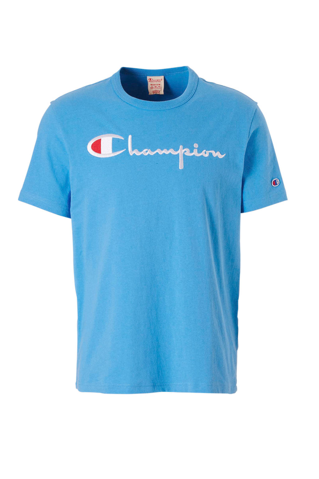 Champion T-shirt, Blauw
