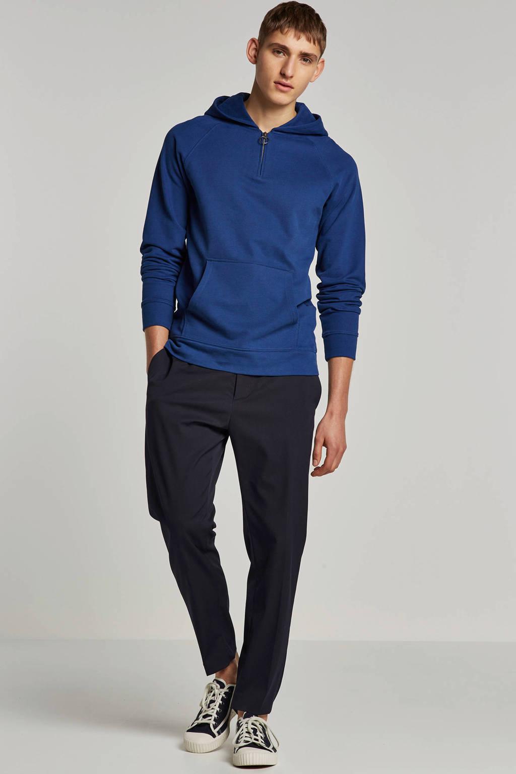 SELECTED HOMME hoodie, Blauw