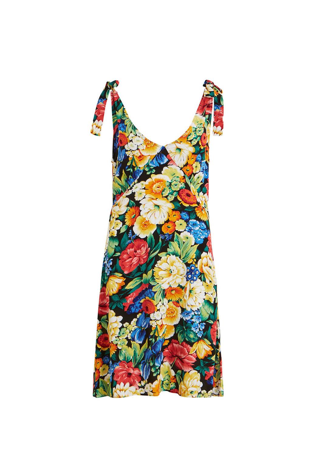OBJECT gebloemde jurk met knoopdetails, Multi