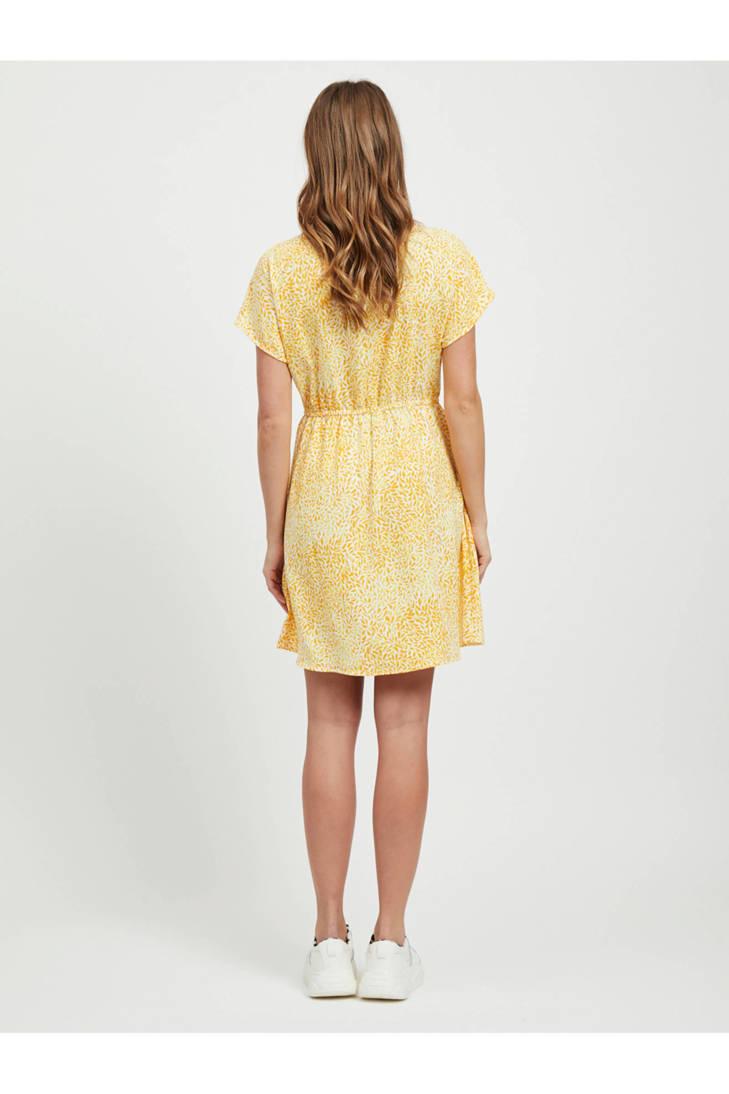all jurk over print met VILA xE06S0
