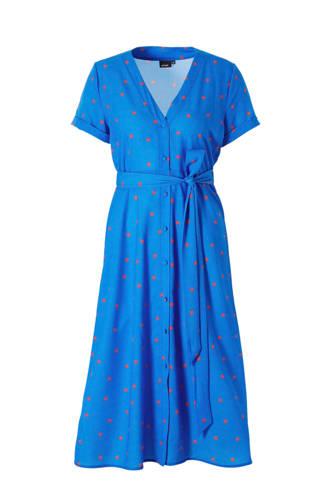 A-lijn jurk met stippenprint