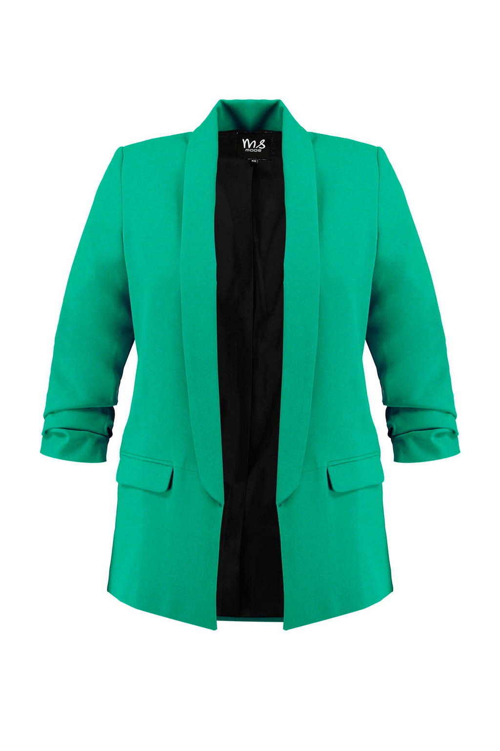 MS Mode blazer groen, Groen