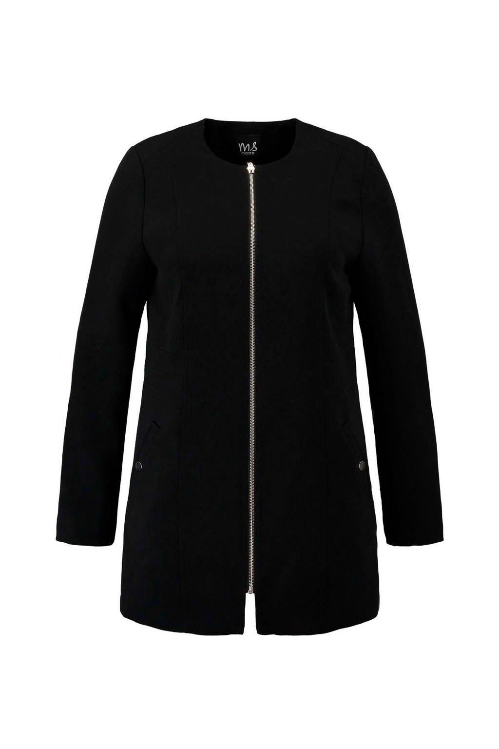 MS Mode tussenjas zwart, Zwart