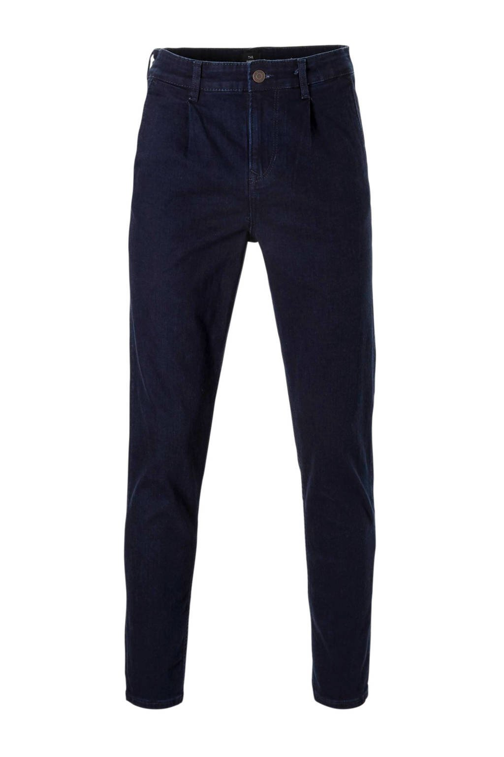 C&A The Denim tapered fit chino, Donkerblauw