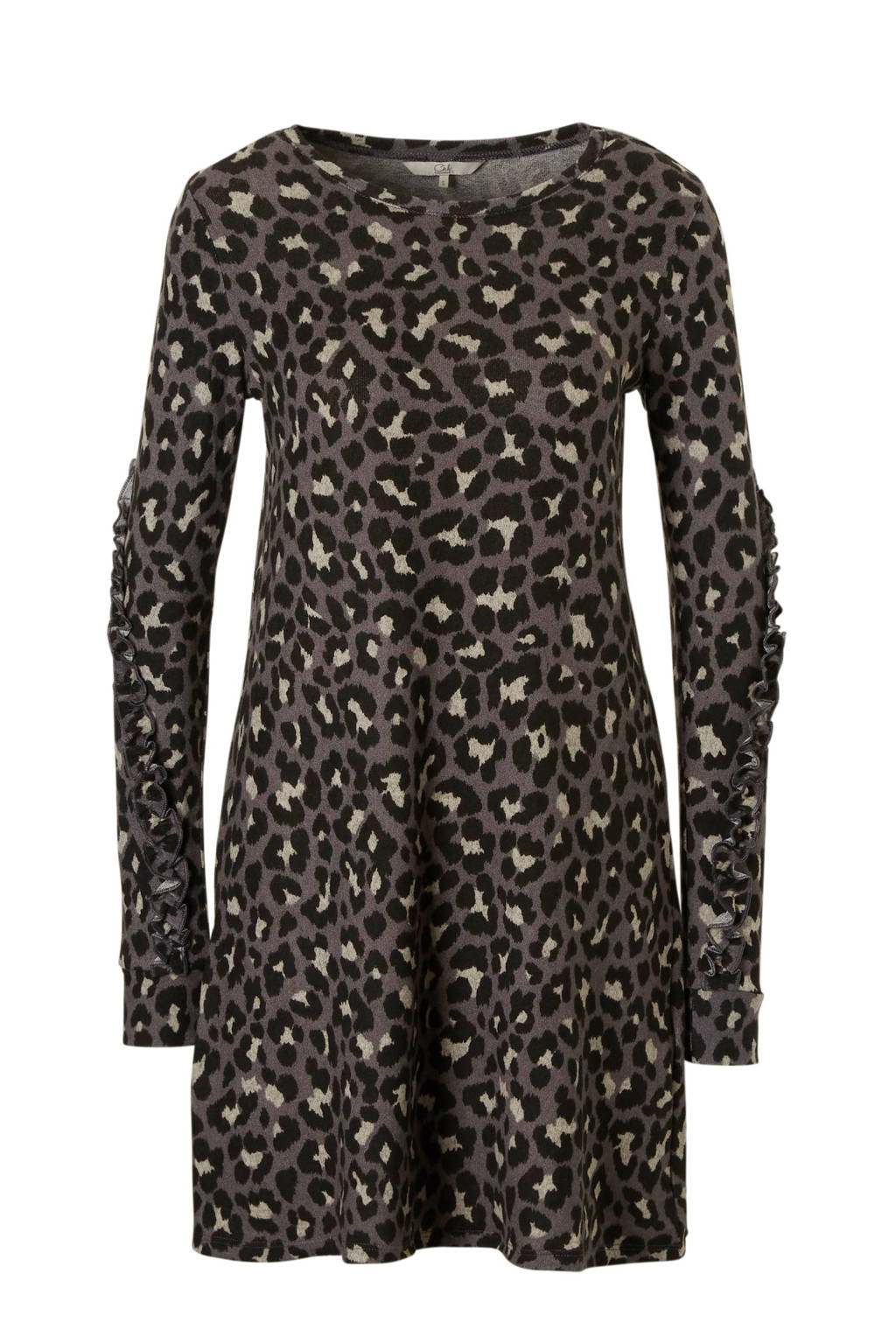 27569dd509ec0a C A Clockhouse jurk met tijgerprint grijs