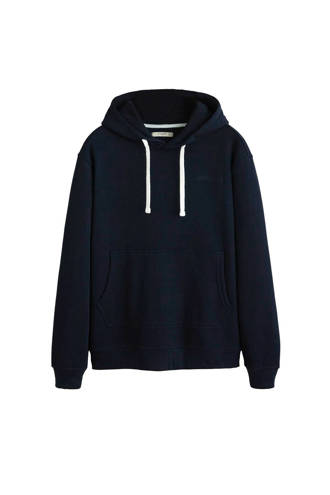 hoodie met borduursel marine