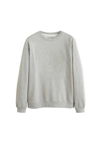 gemêleerd sweater grijs