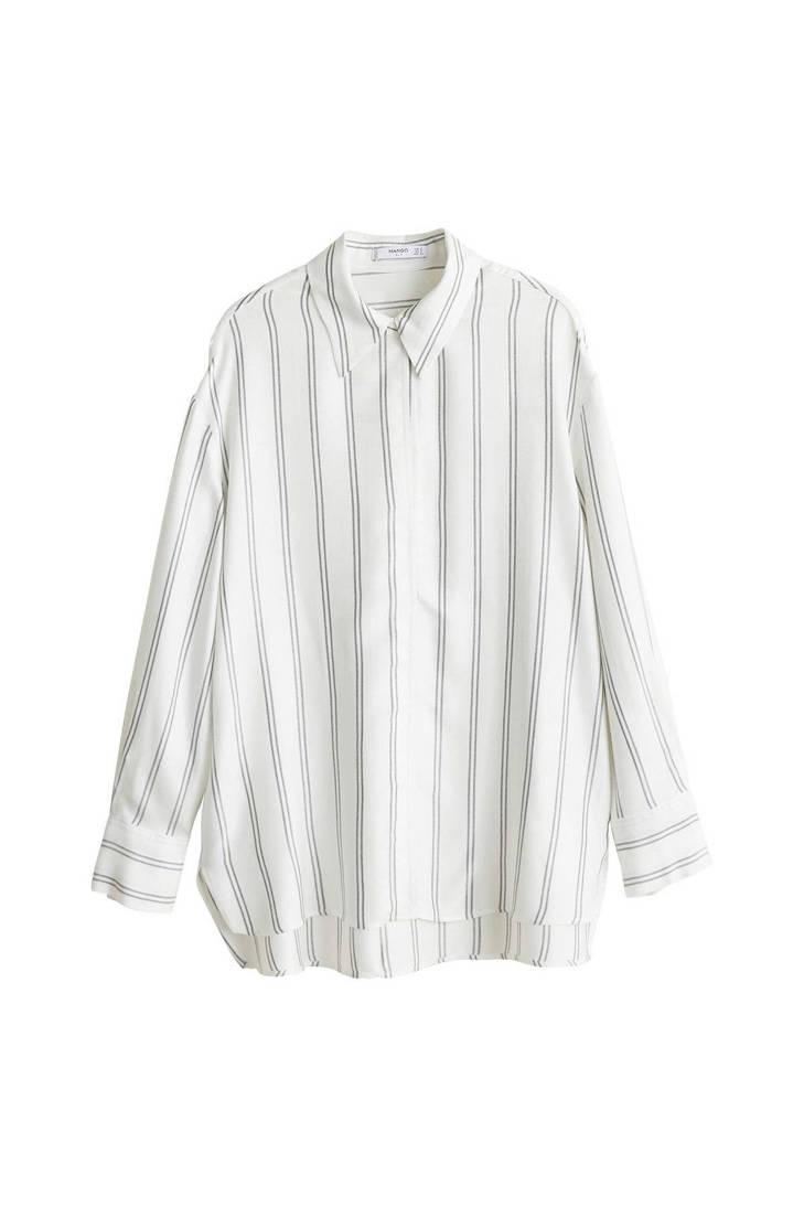 oversized Mango blouse blouse blouse wit Mango Mango oversized Mango blouse wit oversized wit oversized PUqaq5xw