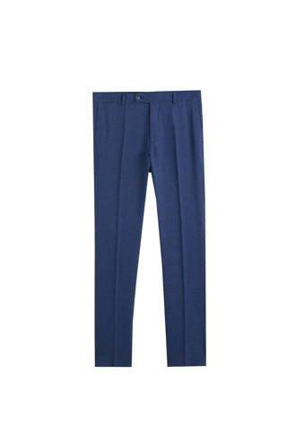 slim fit pantalon donkerblauw