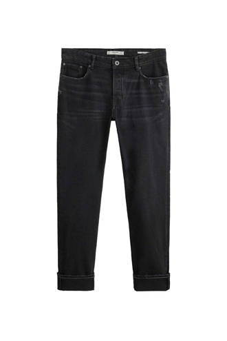 slim fit jeans antraciet