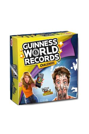 Guinness World Records Challenge bordspel