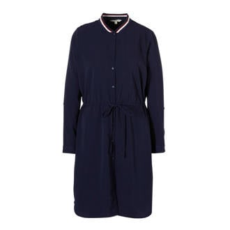 44a9378922f3f3 Tom Tailor. blousejurk donkerblauw