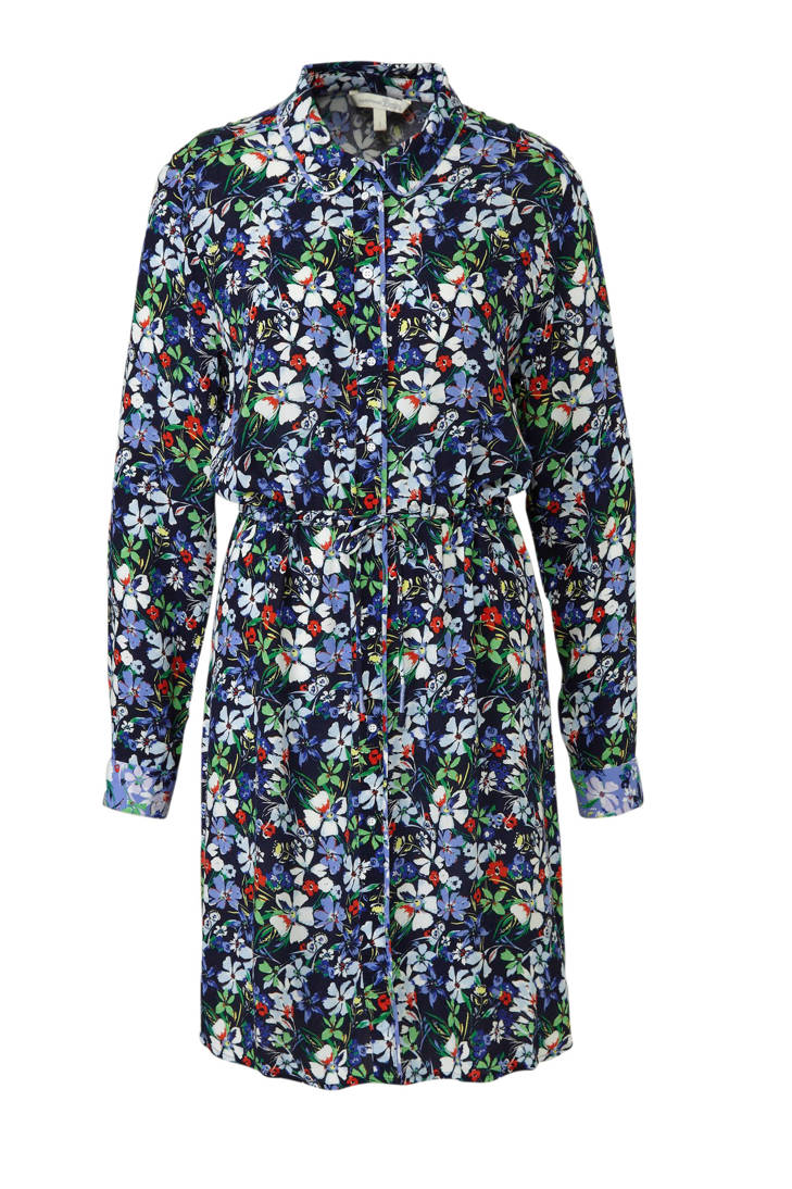 met Tailor blousejurk Tom Tailor bloemenprint Tom blousejurk met YB1axWgR