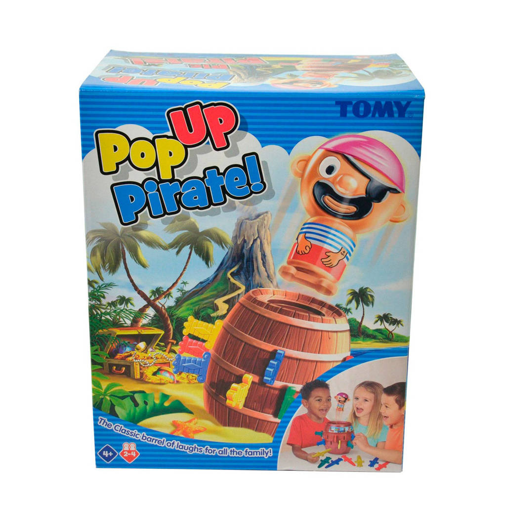 Tomy Pop Up Pirate denkspel