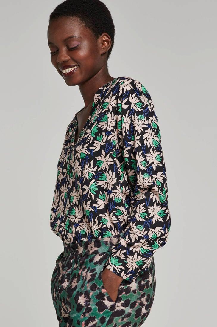 blouse gebloemde Aaiko Aaiko gebloemde Aaiko blouse Xw4qHP