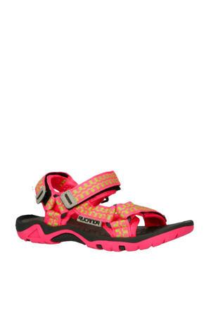sandaal Bizerte VII roze/lime