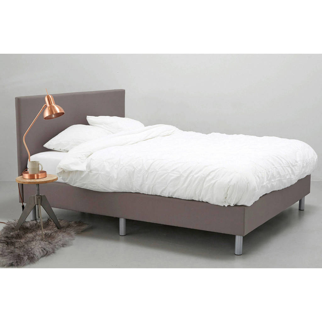 Bed 120x200 Compleet.Whkmp S Own Complete Boxspring Larvik 120x200 Cm Wehkamp