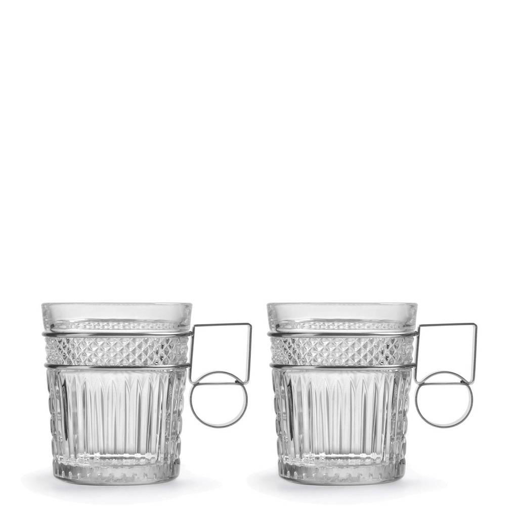 Libbey Radiant koffieglas (Ø10,6 cm) (set van 2), Transparat