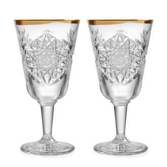 Hobstar wijnglas (Ø18,1 cm) (set van 2)