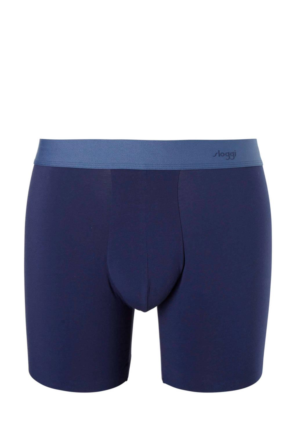 Sloggi Zero Feel boxershort donkerblauw, Donkerblauw