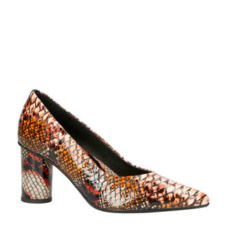 pumps met slangenprint