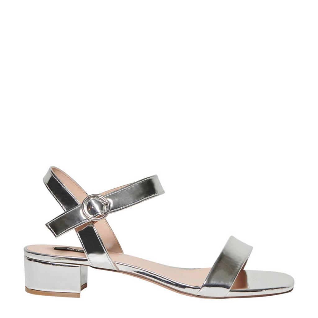 ONLY sandalen zilver, Zilver