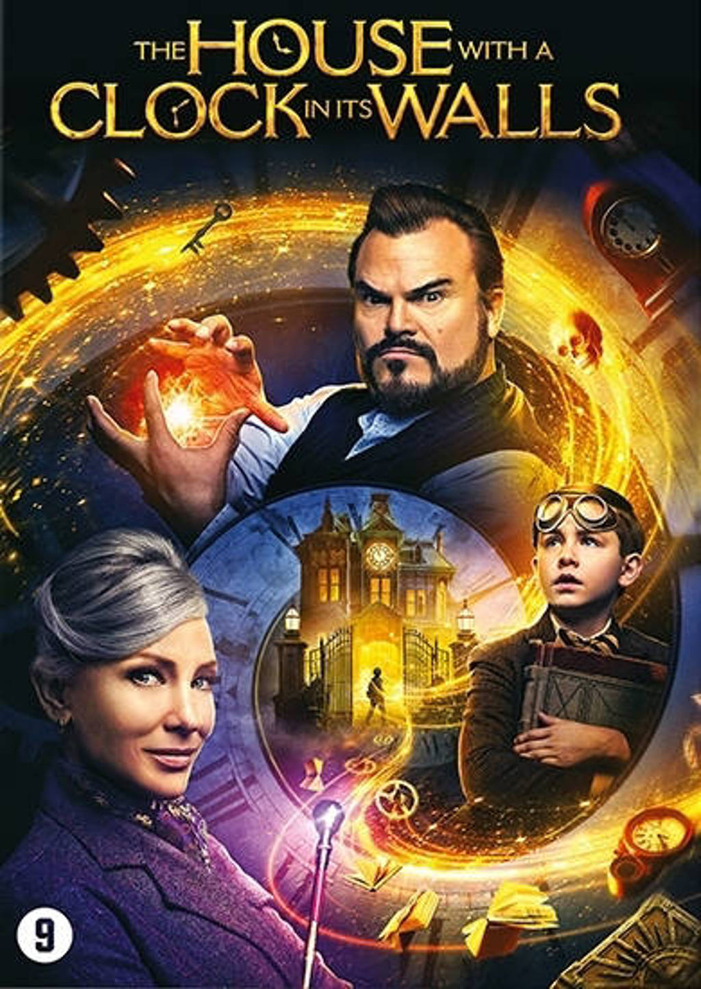 House with a clock in its walls (DVD)