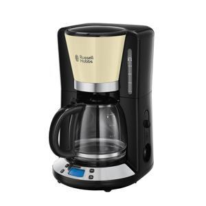 24033-56 COLOURS koffiezetapparaat (creme/zwart)