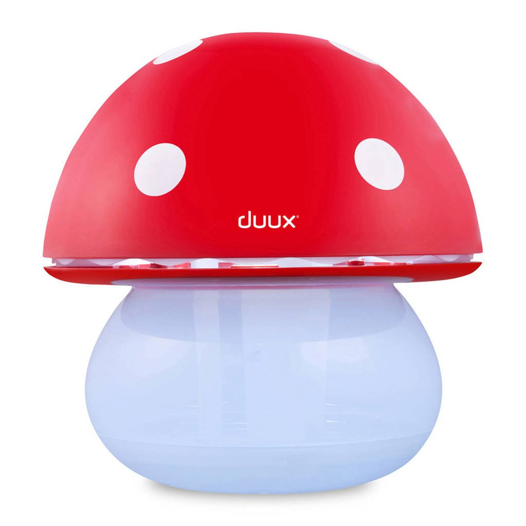 Duux DUAH02 MUSHROOM luchtbevochtiger, Rood/wit