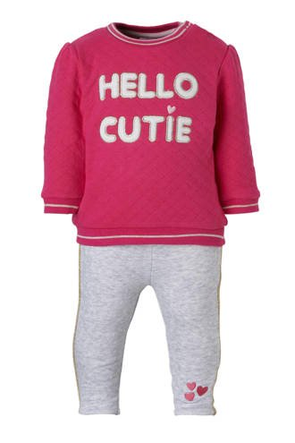 Baby Club sweater + thermo legging