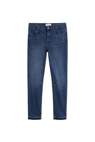 slim fit jeans met lichte wassing denim