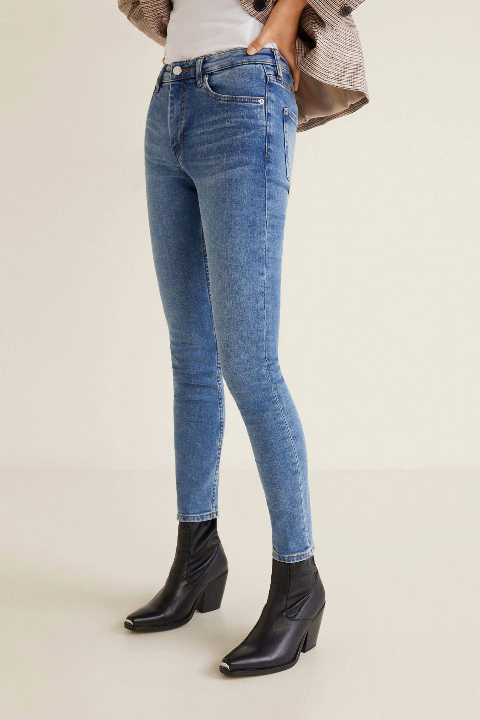 wassing 7 lichte Mango fit met jeans skinny 8 zwgxxaqU