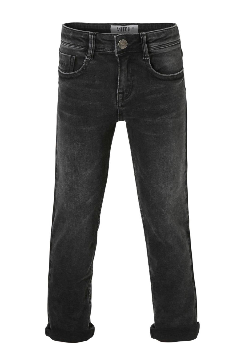 Mitch regular fit jeans Night, Zwart
